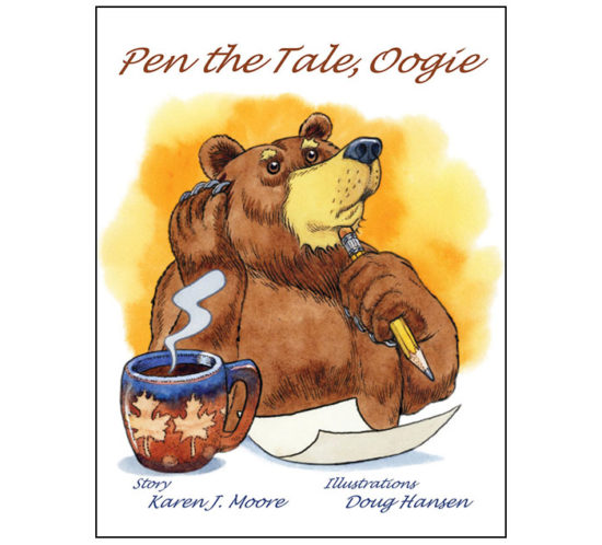 TheChatterBox Guys Book Design, Pen the Tale, Oogie by Karen J. Moore