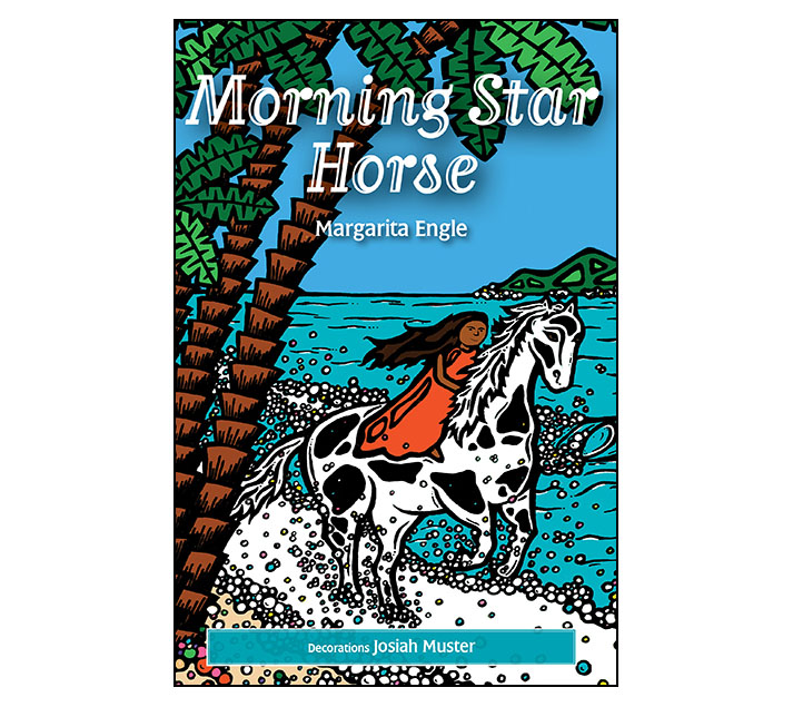 TheChatterBox Guys Book Design, Morning Star Horse by Margarita Engle