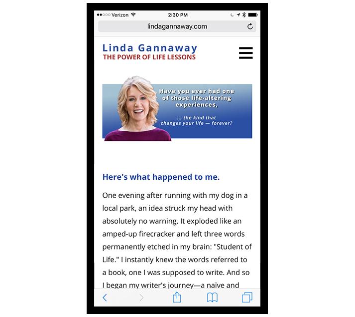TCBGuys Mobile Web Design: Linda Gannaway
