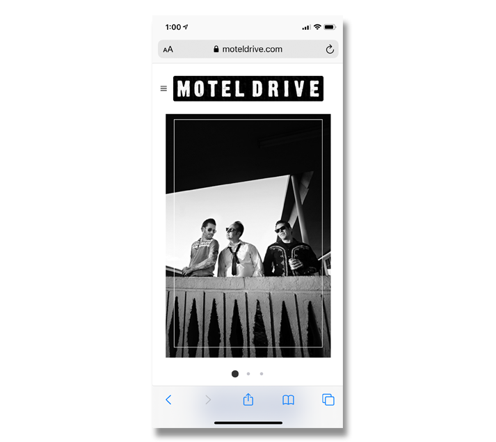 TheChatterBox Guys Web Design: Motel Drive